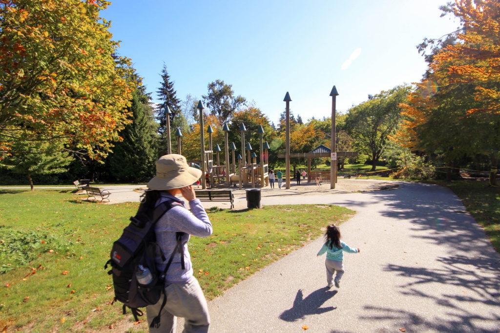 Wow, Canadian parks look so cool! Run run run!
